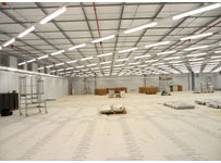IT room at Frimley Park Hospital
